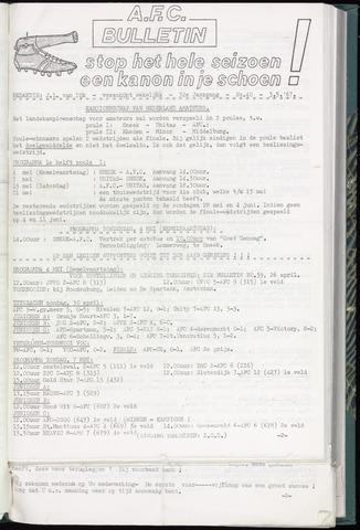 Bulletins (vnl. opstellingen) 1967-05-03