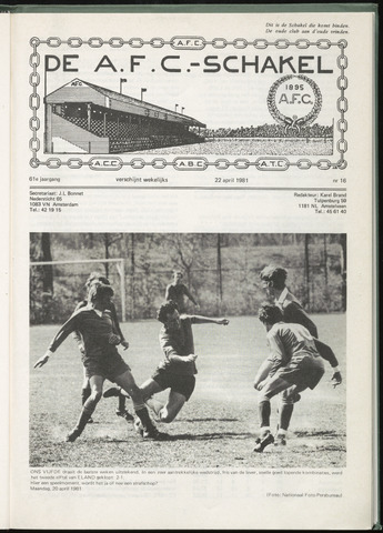 Schakels (clubbladen) 1981-04-22