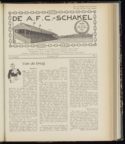 Schakels (clubbladen) 1957-02-01