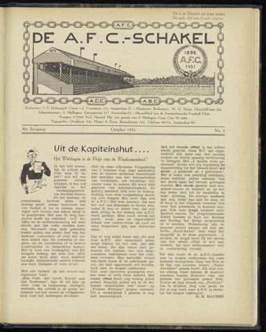 Schakels (clubbladen) 1951-10-01