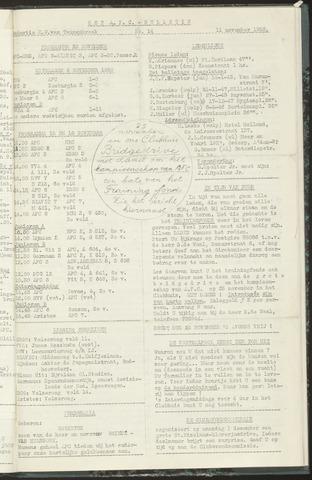 Bulletins (vnl. opstellingen) 1958-11-11