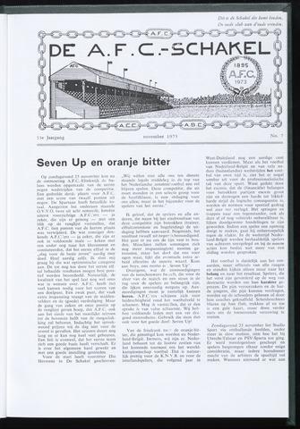 Schakels (clubbladen) 1973-11-01