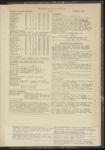 Bulletins (vnl. opstellingen) 1949-03-10