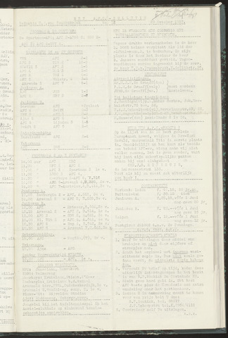 Bulletins (vnl. opstellingen) 1957-10-29