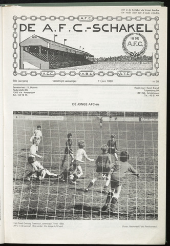 Schakels (clubbladen) 1980-06-11