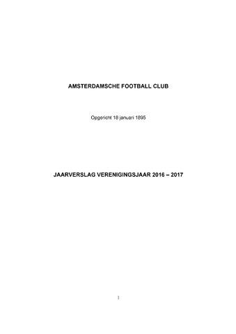 Jaarverslagen 2017-09-01