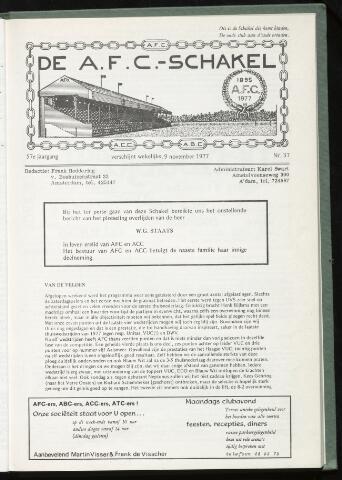 Schakels (clubbladen) 1977-11-09