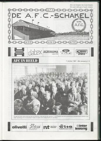 Schakels (clubbladen) 1987-10-07