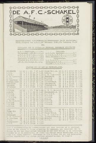 Schakels (clubbladen) 1939-02-16