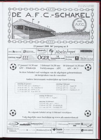 Schakels (clubbladen) 2008-01-23