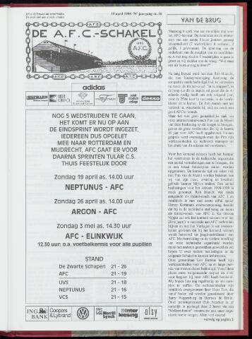 Schakels (clubbladen) 1998-04-15