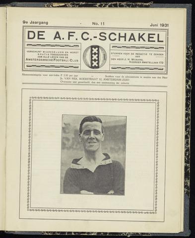 Schakels (clubbladen) 1931-06-01