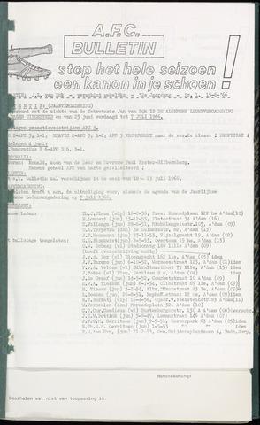 Bulletins (vnl. opstellingen) 1966-06-15
