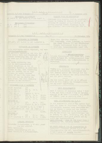Bulletins (vnl. opstellingen) 1954-11-30