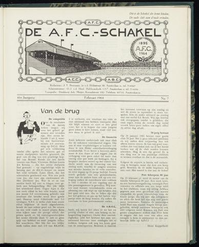 Schakels (clubbladen) 1964-02-01