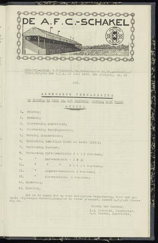 Schakels (clubbladen) 1938-06-15