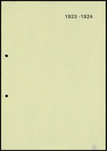 Jaarverslagen 1924-06-01