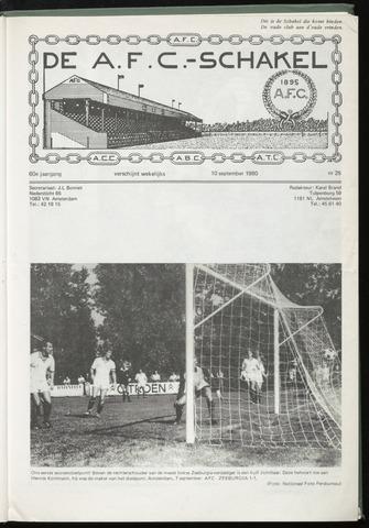 Schakels (clubbladen) 1980-09-10