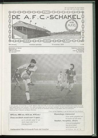 Schakels (clubbladen) 1978-11-15