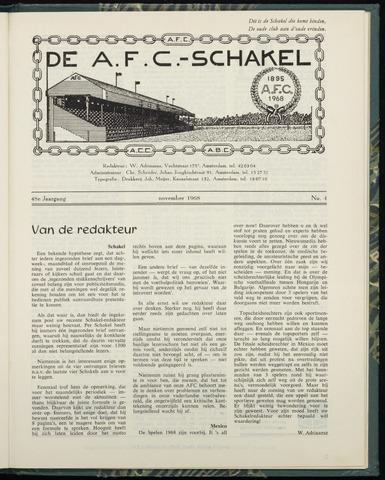 Schakels (clubbladen) 1968-11-01