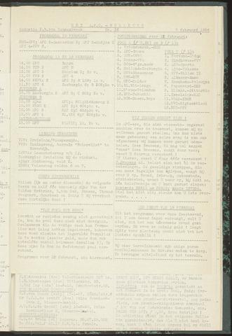 Bulletins (vnl. opstellingen) 1956-02-07
