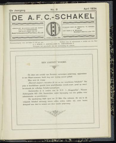 Schakels (clubbladen) 1934-04-01