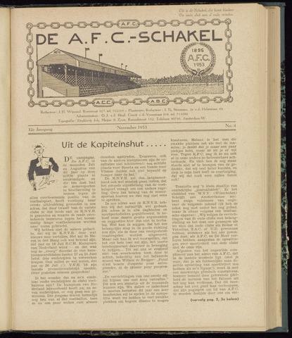 Schakels (clubbladen) 1953-11-01