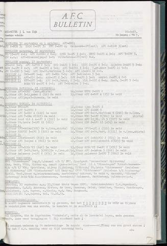 Bulletins (vnl. opstellingen) 1967-09-19