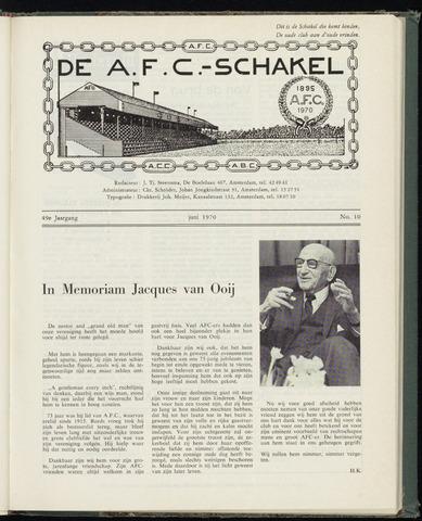 Schakels (clubbladen) 1970-06-01