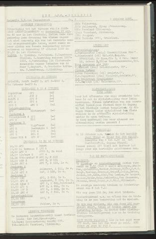 Bulletins (vnl. opstellingen) 1957-10-08