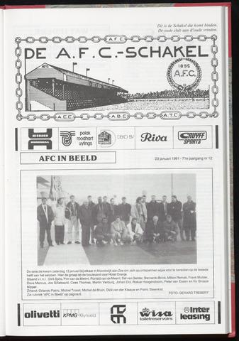 Schakels (clubbladen) 1991-01-23