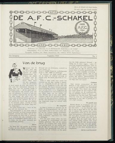 Schakels (clubbladen) 1964-08-01