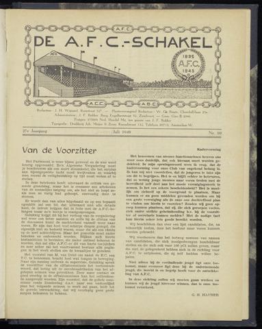 Schakels (clubbladen) 1949-07-01
