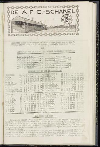 Schakels (clubbladen) 1939-01-19
