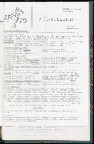 Bulletins (vnl. opstellingen) 1969-05-07