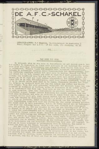 Schakels (clubbladen) 1939-05-18