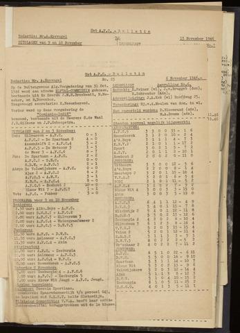 Bulletins (vnl. opstellingen) 1946-11-06