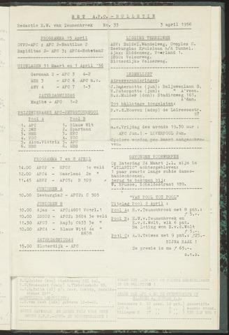 Bulletins (vnl. opstellingen) 1956-04-03