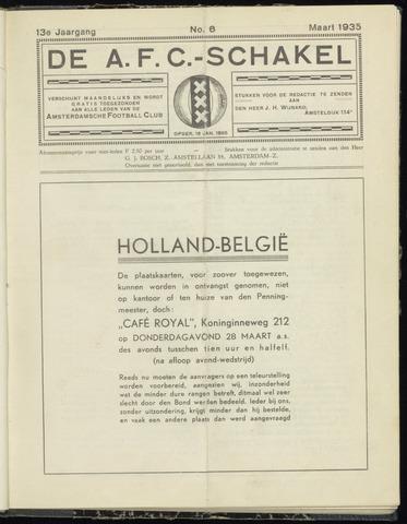 Schakels (clubbladen) 1935-03-01