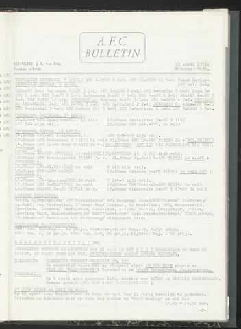 Bulletins (vnl. opstellingen) 1972-04-12