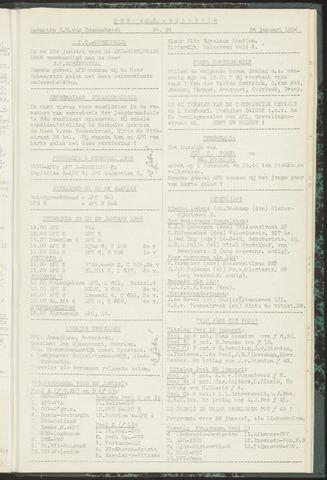 Bulletins (vnl. opstellingen) 1956-01-24
