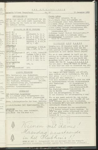 Bulletins (vnl. opstellingen) 1958-12-16