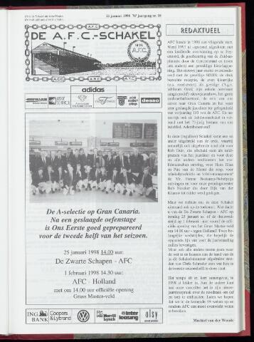 Schakels (clubbladen) 1998