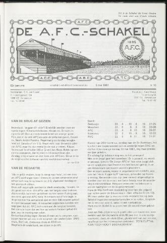 Schakels (clubbladen) 1982-05-05