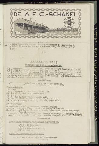 Schakels (clubbladen) 1941-10-30
