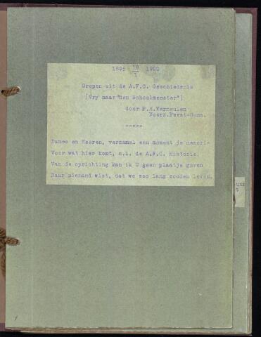 Jubileumboeken 1920