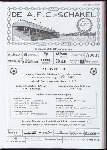 Schakels (clubbladen) 2005-10-19