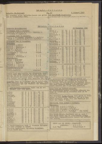 Bulletins (vnl. opstellingen) 1948-12-30