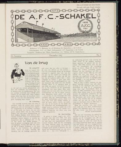 Schakels (clubbladen) 1961-12-01