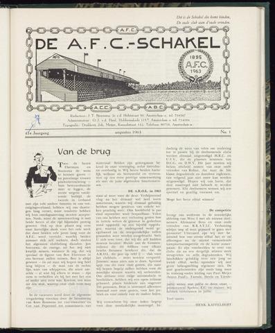 Schakels (clubbladen) 1963-08-01